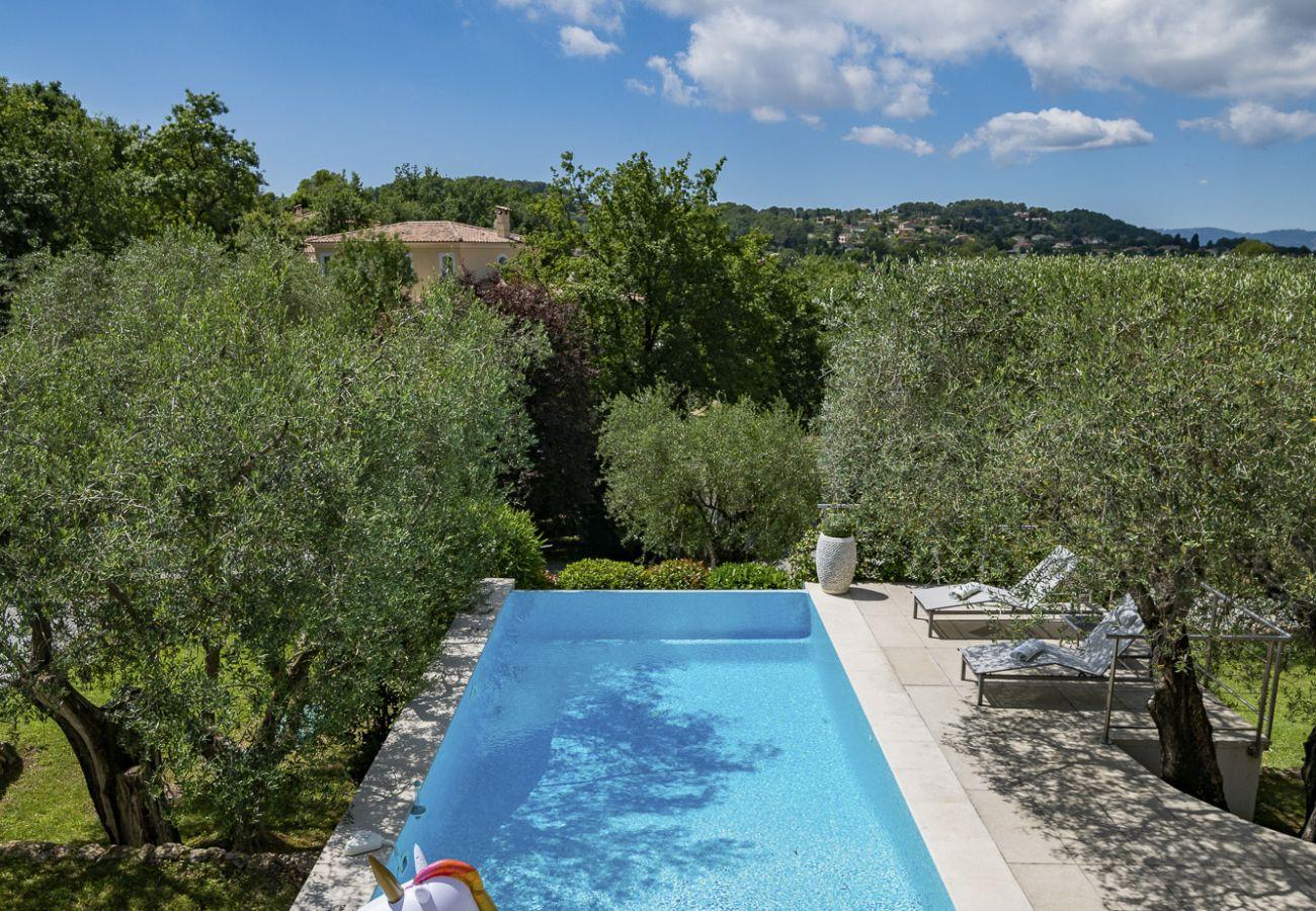 Villa in Valbonne - Villa Voile de Soleil